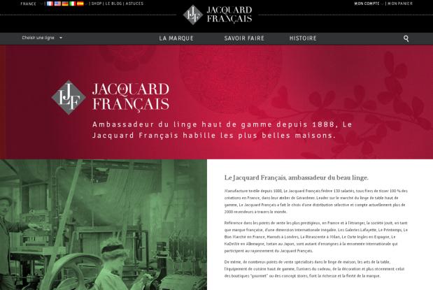 Le Jacquard Français_L'Atelier des Mots